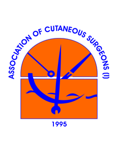Logo of the Association of Cutaneous Surgeons (India)